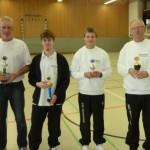 Siegerehrung Vereinsmeisterschaft Halle 2011